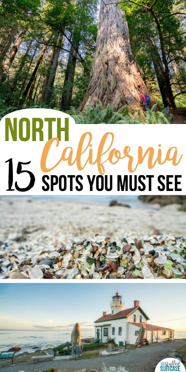 Must see list of things to do in northern California - travel tips for your itinerary of what to do including the redwoods!