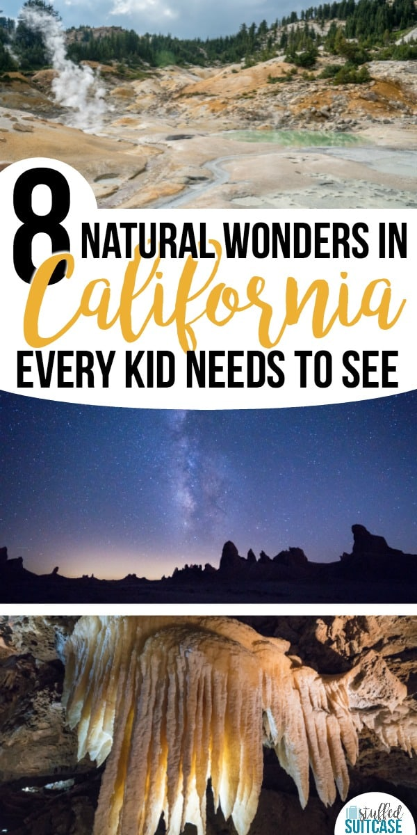 Planning a California vacation? Here are 8 natural wonders that are amazing and need to be seen! #california #travel