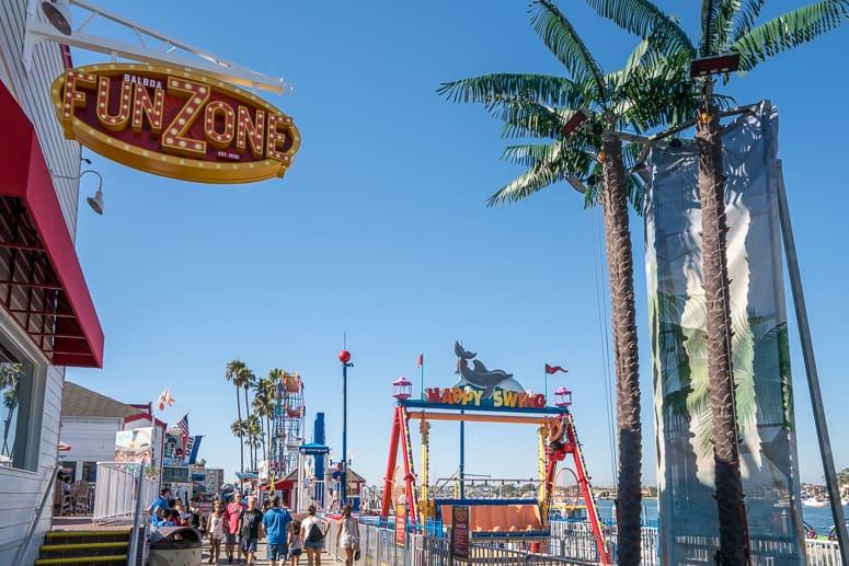balboa island fun zone