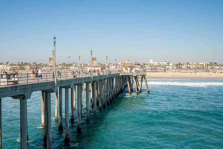 huntington beach California pier