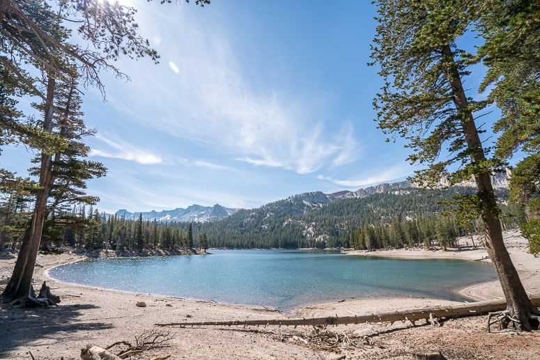 Horseshoe Lake California Vacation Spot Mammoth Lakes