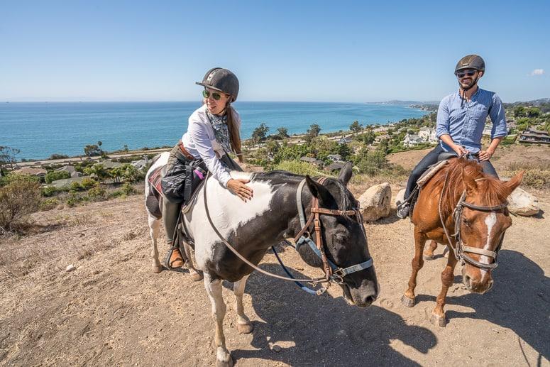 Horseback riding in california los angeles best image for Weekend getaway los angeles area