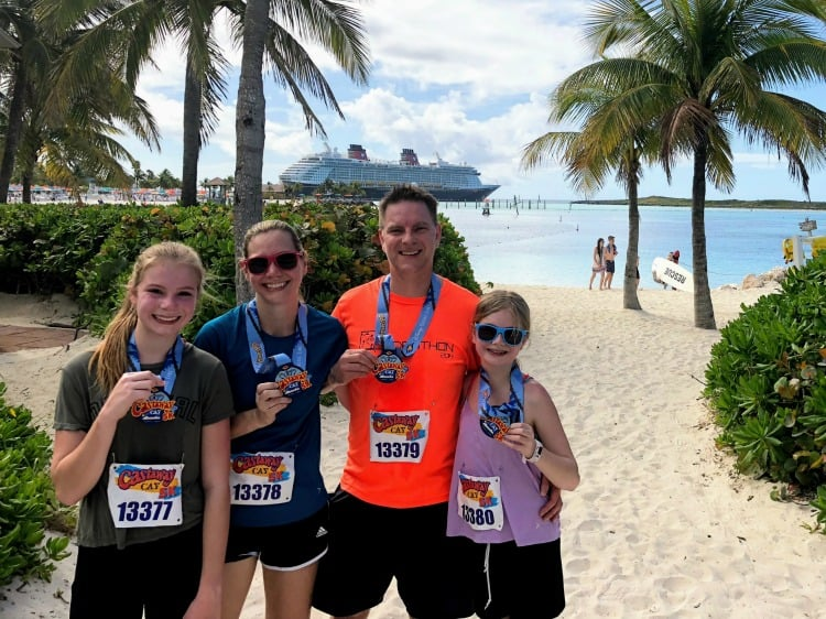 family castaway cay 5k Disney Cruise