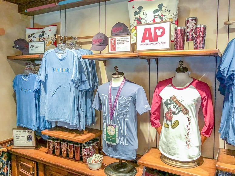ap merchandise for food and wine festiva
