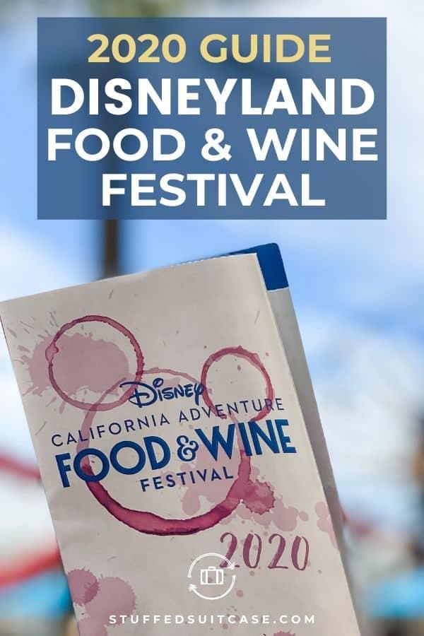 disneyland food and wine event