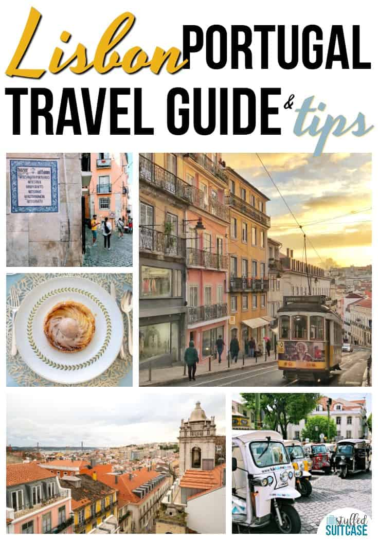 Lisbon Portugal travel guide - things to do in Lisbon and travel tips for Portugal - language, food, currency, and safety. #lisbon #portugal #europe #lisbonportugal