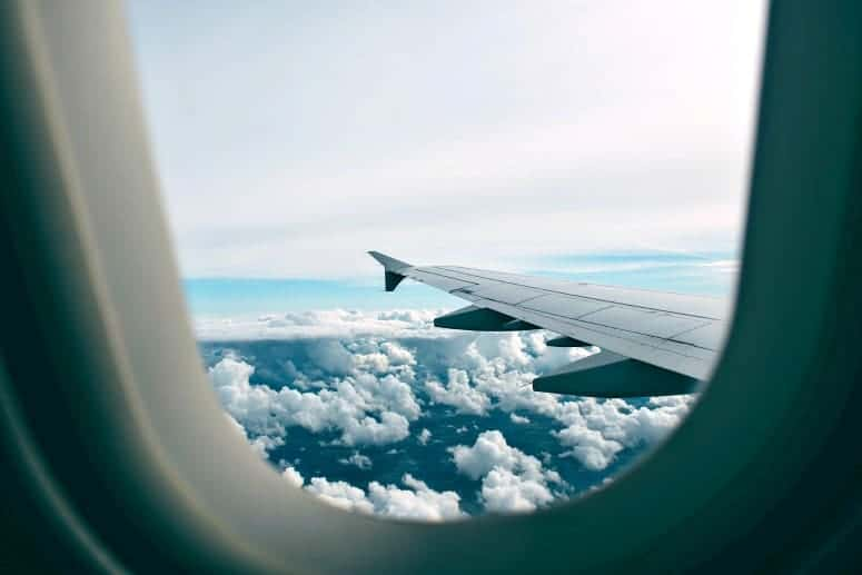 what is travel insurance - view from airplane