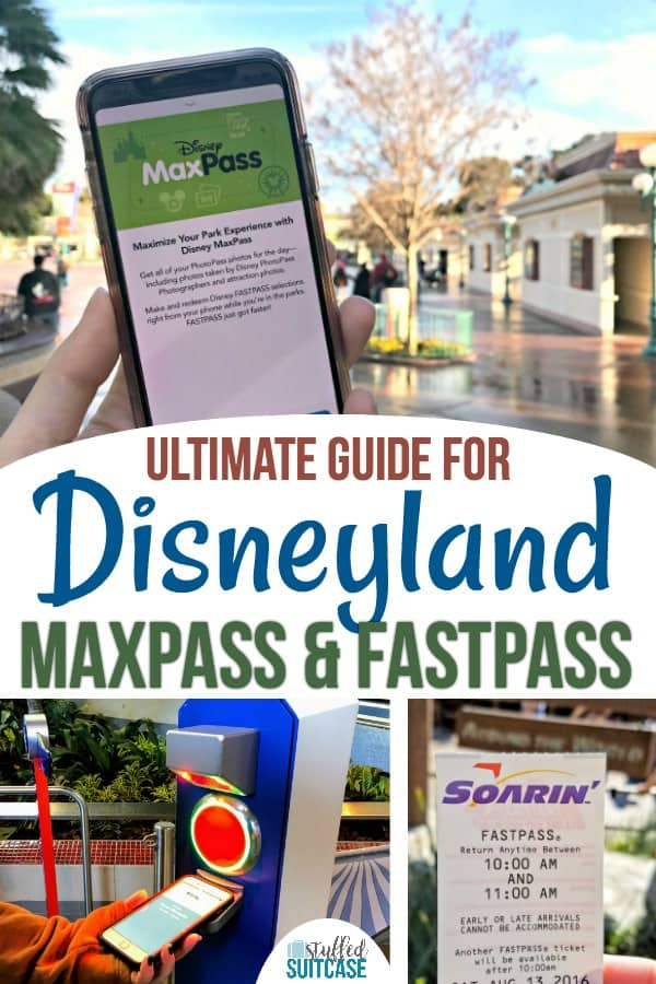 Disneyland secrets and tips for using fastpass and maxpass for rides on vacation. #disneyland #maxpass #disney