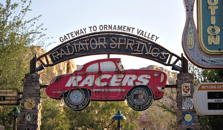 radiator springs fastpass return line