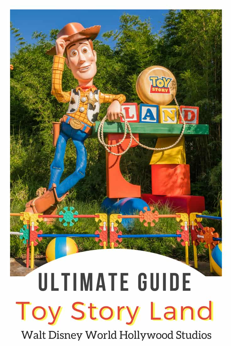 Toy Story Land Disney World tips for rides, food, and fastpass at Hollywood Studios WDW