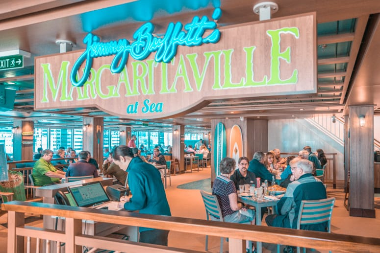 norwegian bliss margaritaville restaurant
