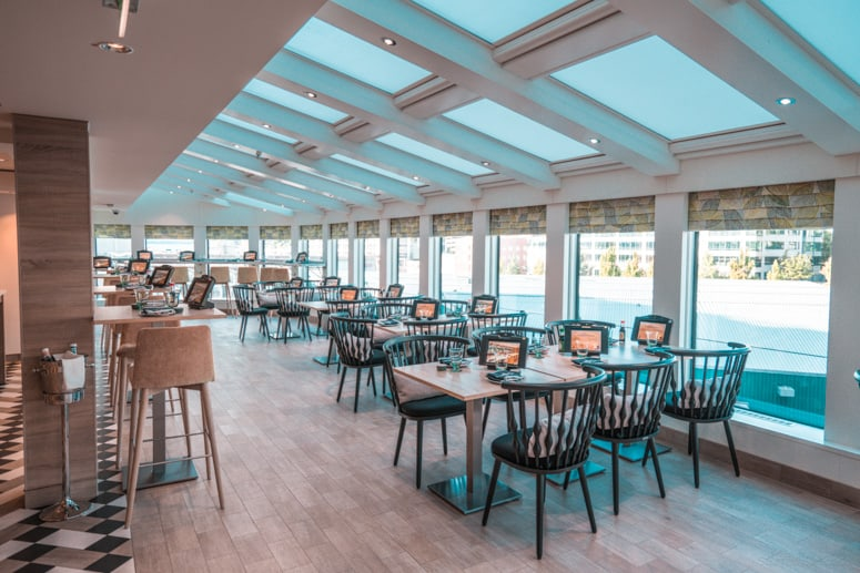 food republic restaurant on norwegian bliss cruise ship