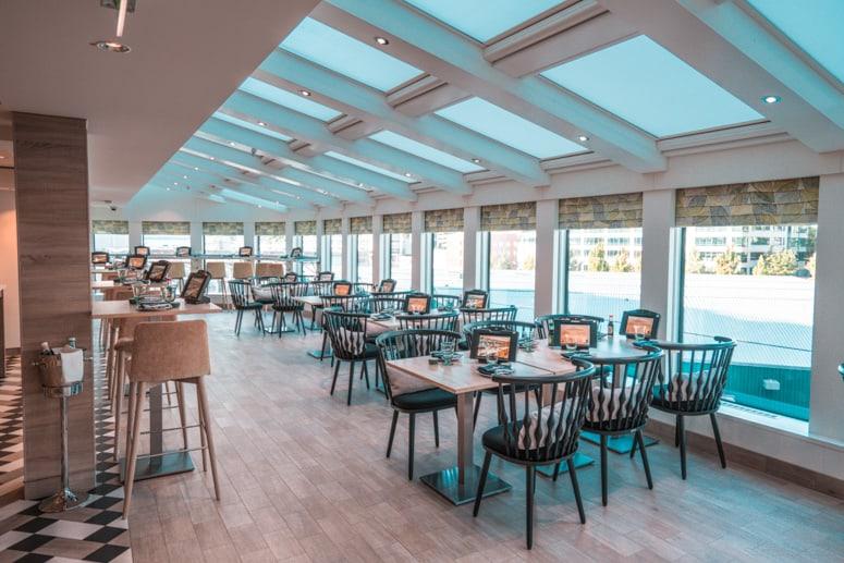 food republic restaurant on norwegian bliss cruise ship