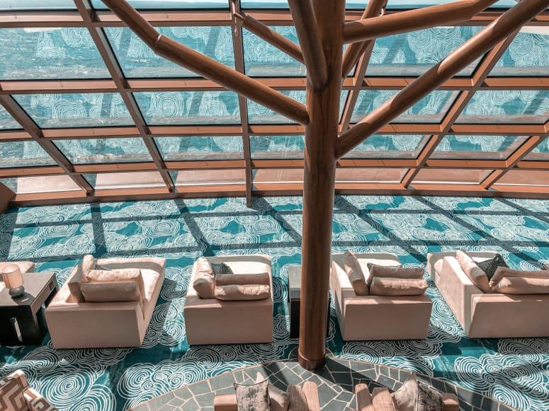 the haven horizon lounge on Norwegian Bliss