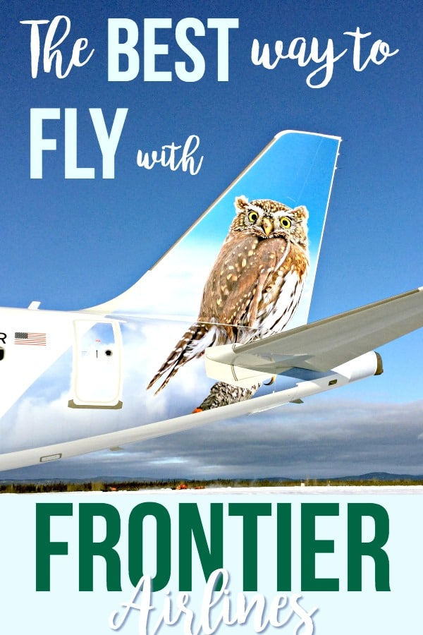 Here's a secret tip for flying Frontier Airlines that can get you more miles and help you earn free tickets faster!