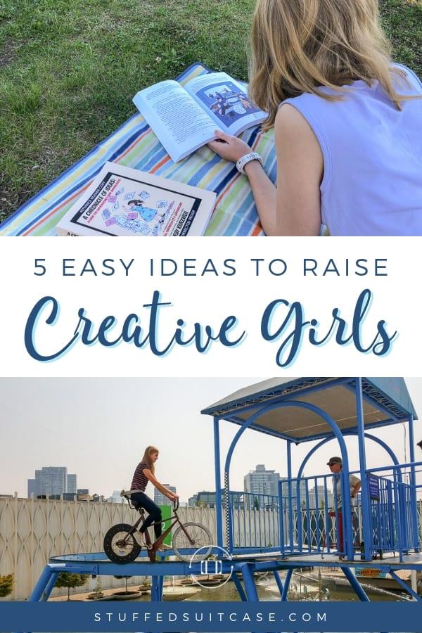 raise creative daughters