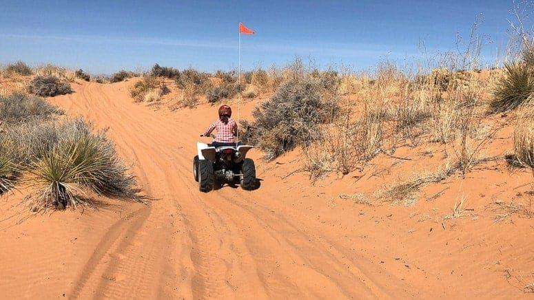 atv in red sands in el paso tx