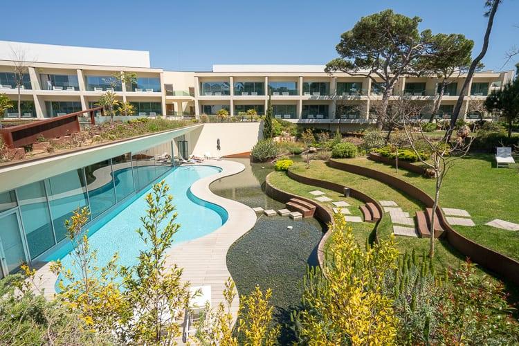 martinhal cascais hotel pool