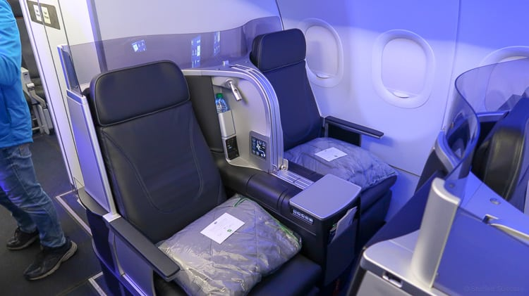 JetBlue mint two seats