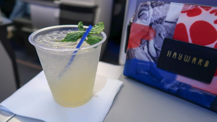 jetblue mint drink