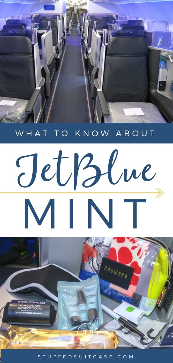 jetblue mint first class travel