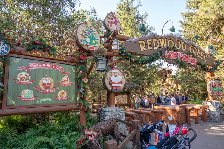 redwood creek challenge santa christmas