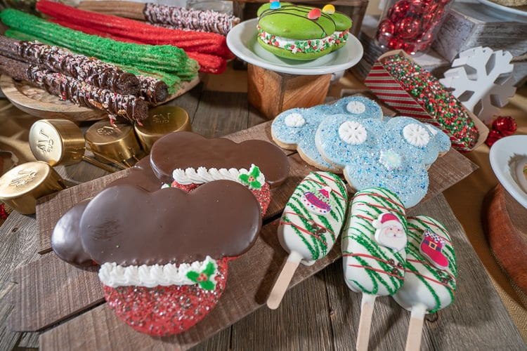 disneyland christmas treats