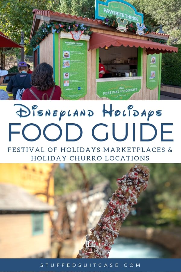 disneyland holidays food guide
