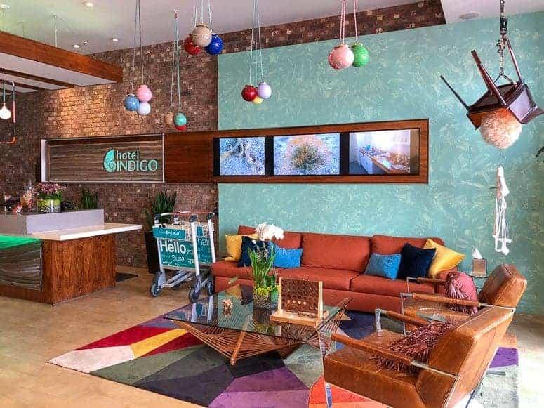 hotel indigo lobby in santa barbara california