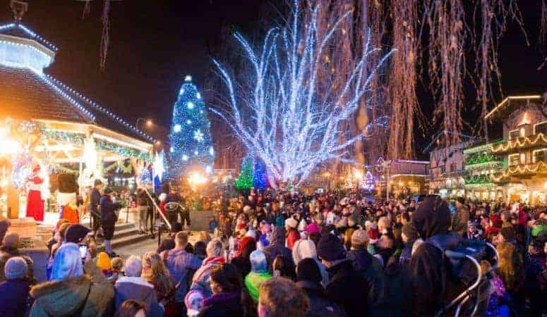 10 best christmas towns in the usa on the west coast