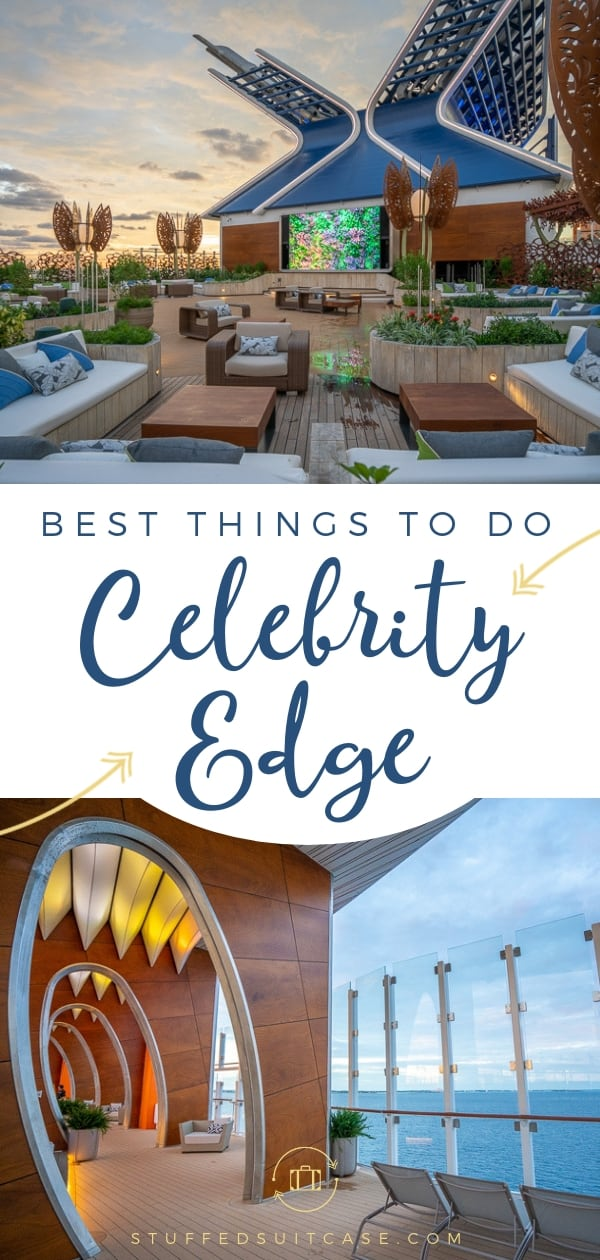 best things to do on celebrity edge