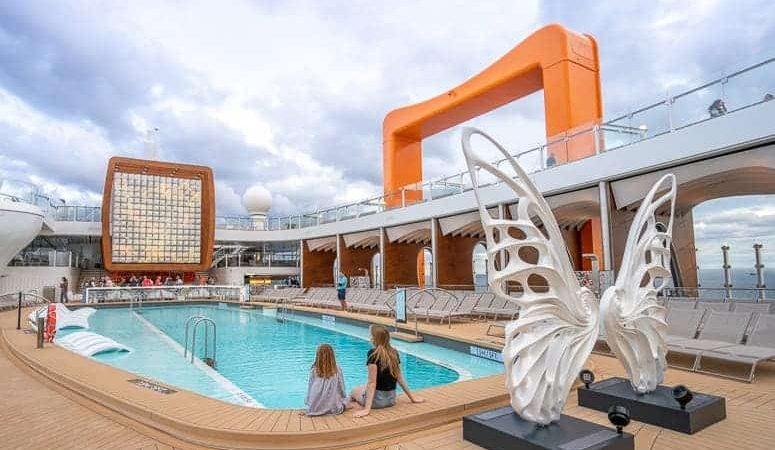 celebrity edge pool