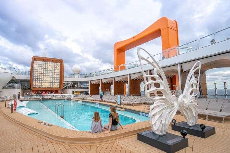 celebrity edge cruise ship pool