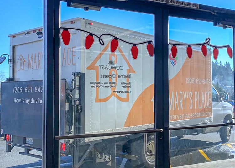 marys place donation truck