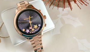 michael kors access runway smartwatch in rose gold