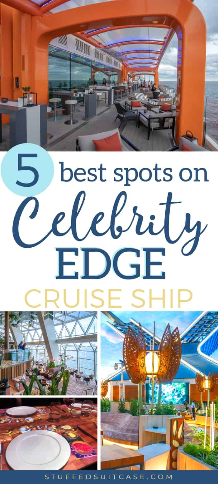 Best things to do on the Celebrity Edge cruise ship