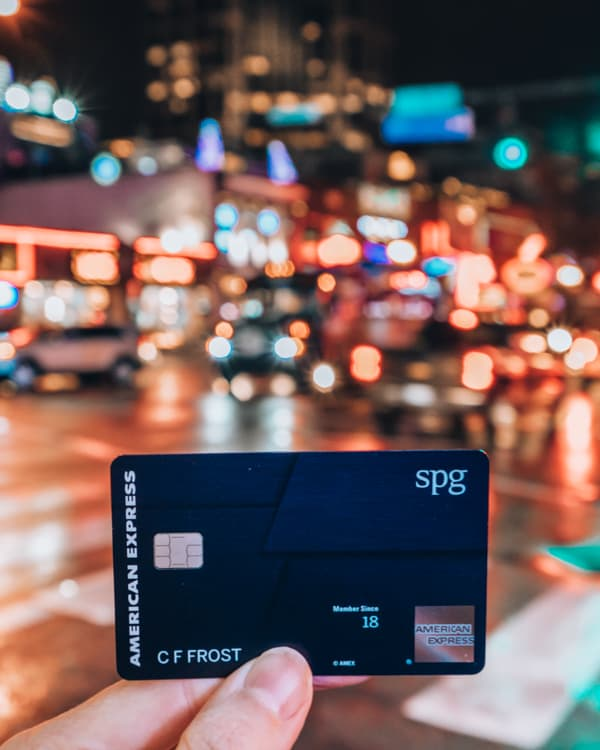 SPG amex luxury card nashville