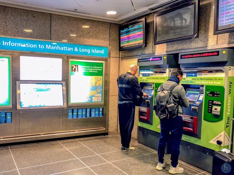 jamaica station ticket machine