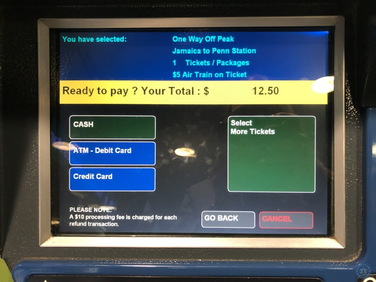 Automated payout machines betting terminals at jfk define betting