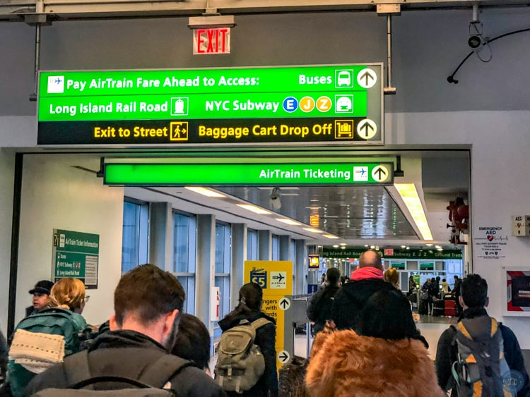 jamaica station airtrain exit