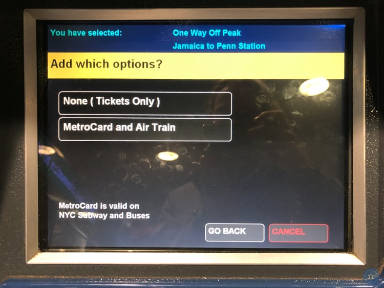 metrocard and airtrain purchase terminal