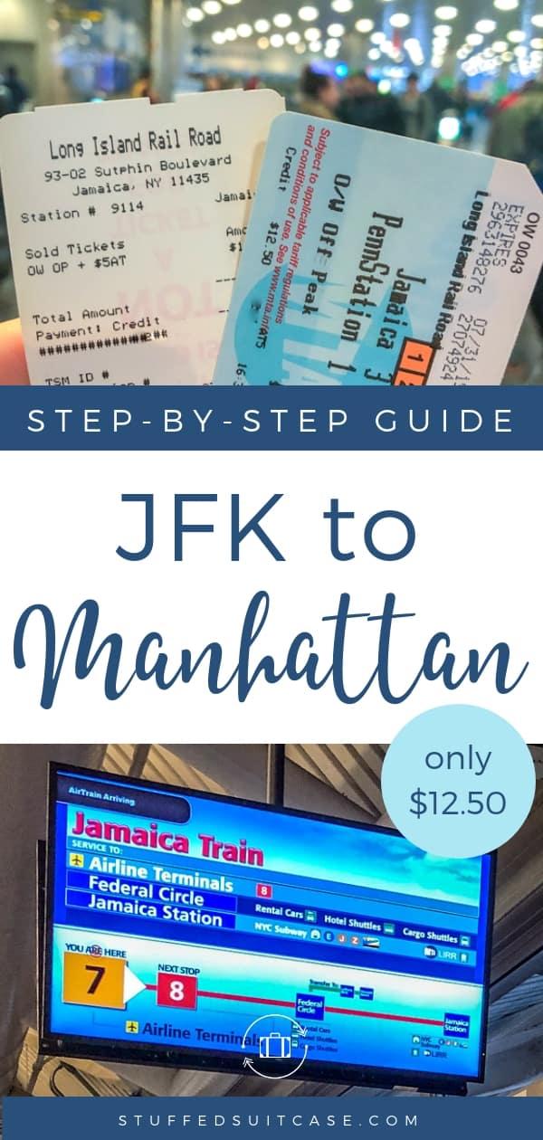jfk to manhattan train guide