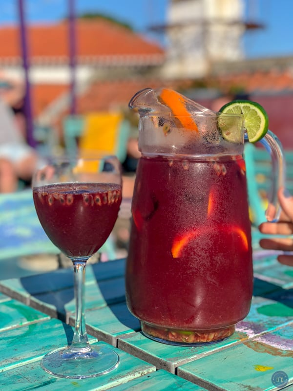 sangria in cascais portugal
