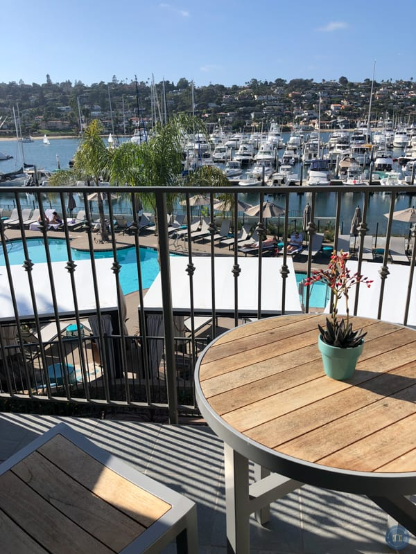 marina balcony view at kona kai