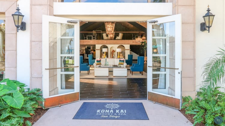 kona kai lobby entrance