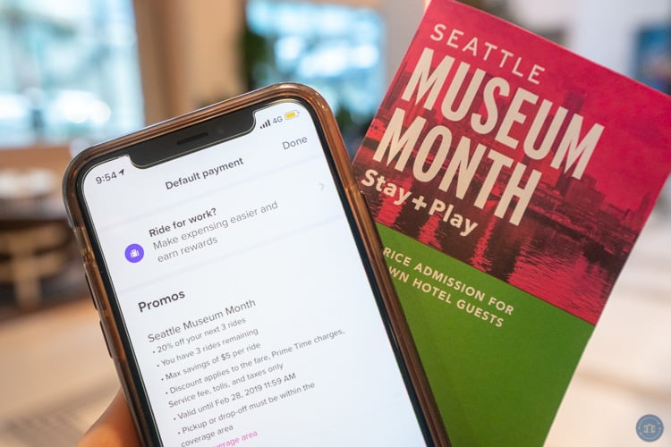 seattle museum month lyft discount