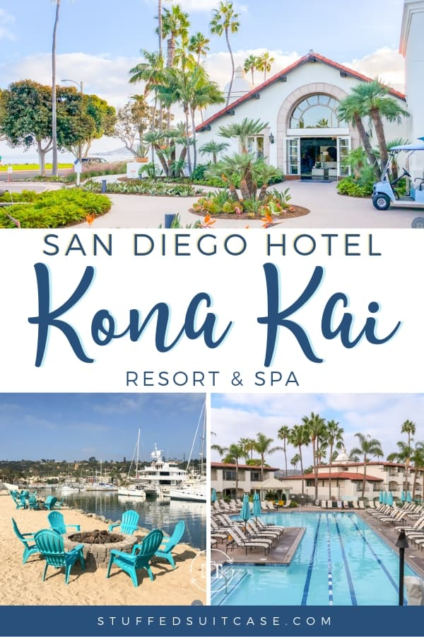 Kona Kai San Diego resort near the San Diego airport