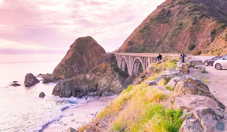 big creek bridge hwy 1 road trip