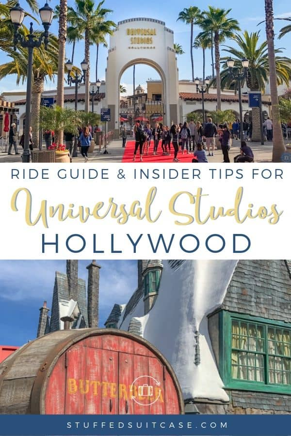 guide and tips for universal studios hollywood