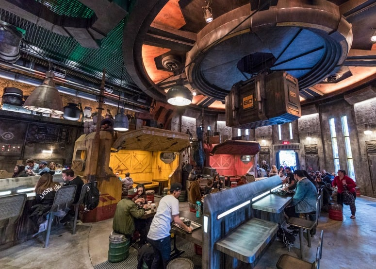 Docking Bay 7 dining at Galaxy Edge